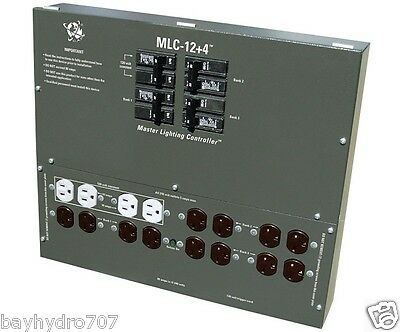 Master Lighting Controller 12-120/240 X-plugs + 4 120v outlets w/Trigger SAVE $$