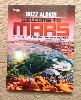 "Buzz Aldrin SIGNED ""Mission To Mars"""