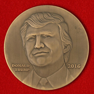 """Challenge coin """"Donald Trump"""" President of the United States"""