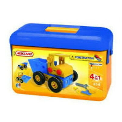 Meccano Construction Easy 4 Modles Tool Box Mec760301