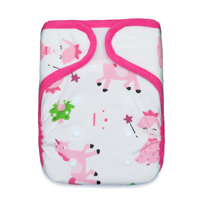 1 KaWaii Baby One Size Holiday Print Cloth Diaper + 2 BAMBOO Inserts