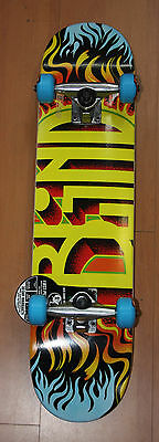Blind Fuego Youth 7.0 Complete Skateboard Brand New!!