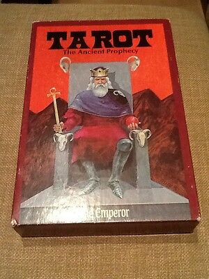 Vintage Tarot Cards The Ancient Prophecy Dynamic Rare Complete Set