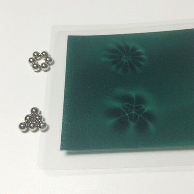 Magnetic Field Viewer Card, Magnet Pattern Viewing Film, Youtube demo video