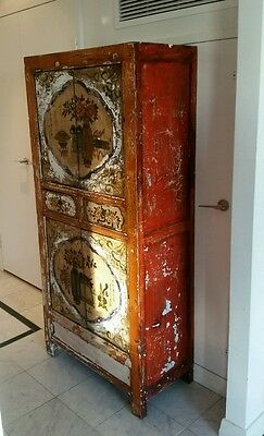 very old chinese cupboard