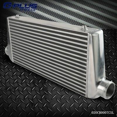"""UK Universal 600 x 300 x 76mm Core 3"""" Inch In/Out Front Mount Alloy Intercooler"""