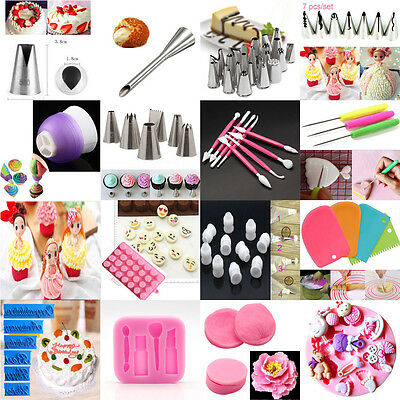 Russian Cake Icing Piping Nozzles Tips Converter Mould Sugarcraft Decor tool au