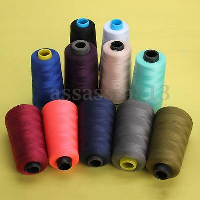 3000 Yards Reel Industrial Overlock Sewing Machine Polyester Thread All Purpose