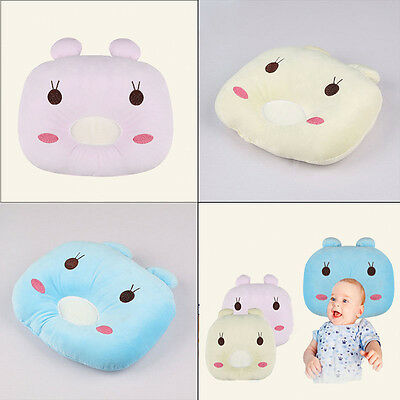 Baby Newborn Infant Sleeping Pillow Cushion Support Positioner Prevent Flat Head