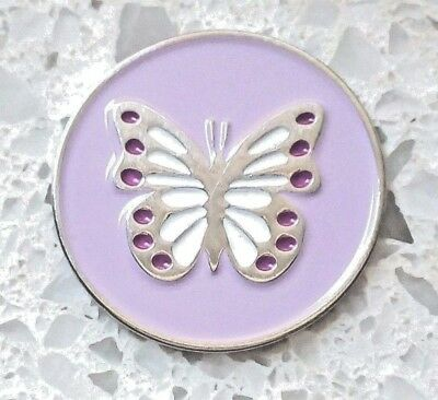 anneys - **GOLF  BALL  MARKERS -  butterfly -24mm diameter**