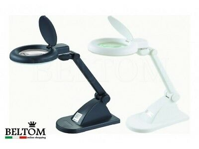 Desk Magnifying Lab Lamp Light Beauty 3 + 12 Diopter Magnification Magnifier