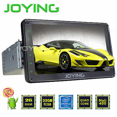 7'' 2GB Universal 1 Din Android 5.1 Car Stereo Head Unit GPS SAT Navi Navigation