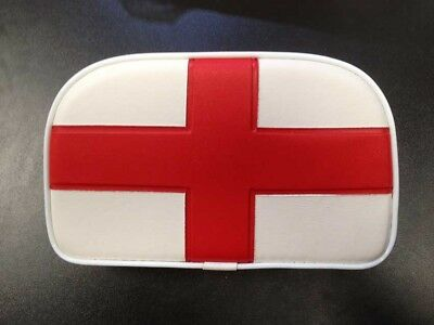 Rear / back rest cushion St George Cross for Vespa LML & Lambretta