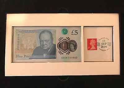 UK New £5 Polymer Banknote DateStamp Issue unique serial number limited edition
