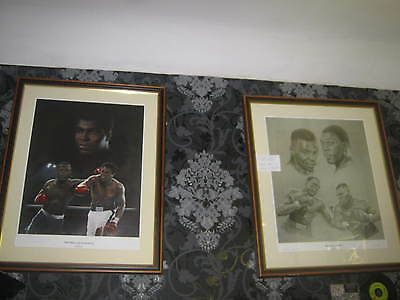 x2 Hand signed Robert Elvin pieces (Bruno and Ali)