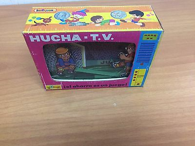 Vintage Hucha Futbol Coin Bank  Money Spain New Old Stock