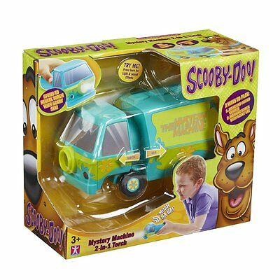 Scooby Doo Mystery Machine 2-in-1 Torch & Vehicle + SFX