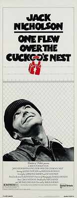 Original One Flew Over the Cuckoo's Nest 1975 US Insert, Film/Movie Poster