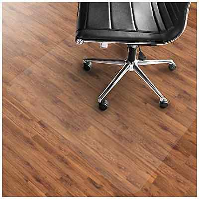 PVC Chair Mat Hard Floor Protection 75x120cm Multiple Sizes transparent - NEW