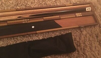 PowerGlide Heritage Connoisseur 50/50 2 Piece Snooker Cue and Case RRP £415