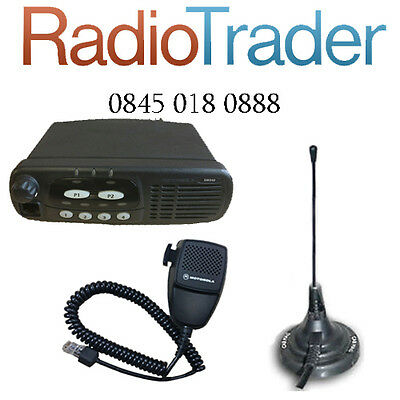 Motorola Gm340 Vhf Data Taxi Mobile Two Way Radio Comes With Magmount Antenna