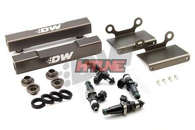 DeatschWerks Top-Feed Fuel Rail Conversion (w/ 2200cc Injectors) - Subaru EJ20 (