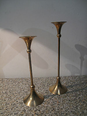 Scandinavian candelsticks - bougeoirs scandinaves - vintage design