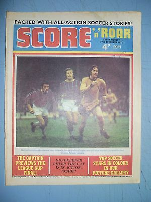 Score and Roar issue dated February 27 1971