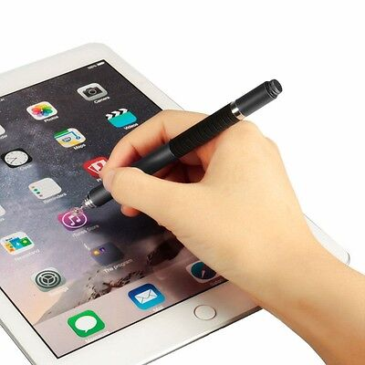 2 in 1 Precision Fine Tip Stylus Pen for iPhone, iPad, Samsung Galaxy, Huawei