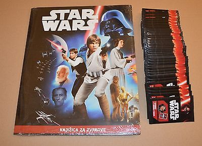 2016 Star Wars 100 Sealed Packets + Empty Token Album