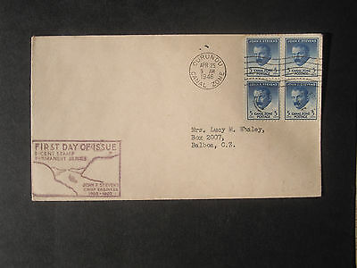 FDC/Envelope Panama Canal ..4x5c blue. dated 25th April 1946