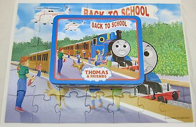 Thomas the Tank Engine & Friends Back to School Puzzle w/ Tin Lunchbox