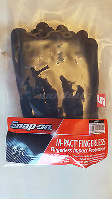 Snap On M-Pact Fingerless Gloves Large