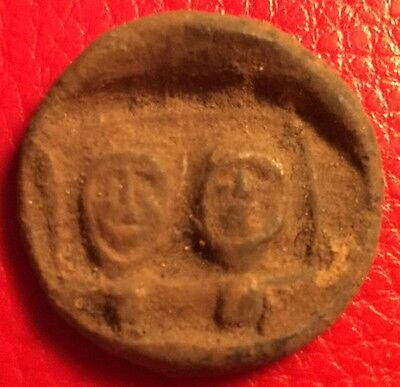 C-5 Ancient Votive Coin / Seal = Greek, Egypt, Phoenicia, Byzantine
