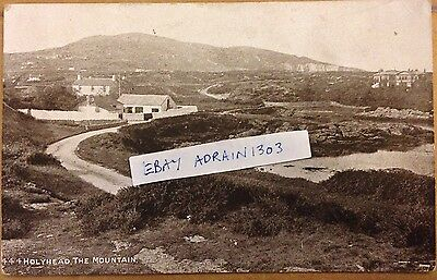 Anglesey Holyhead The Mountain Photochrom c1910 Posted To Dunham Massey