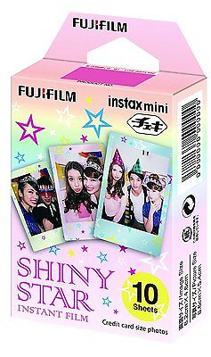 Fujifilm Shiny Star instant Film Exposures for Instax Mini (Pack of 10)