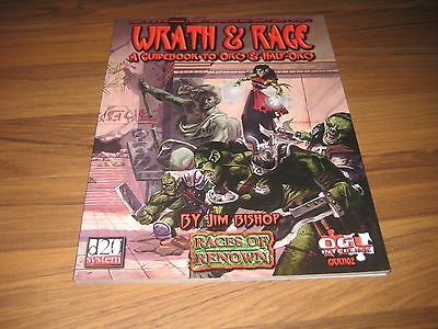 d20 Races Of Renown Wrath & Rage A Guidebook to Orcs & Half-Orcs Green Ronin SC