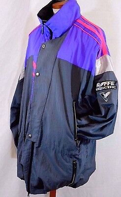 VTG 80s ROFFE SKIWEAR DEMETRE Mens XL Mesh-Lined Light Ski/Snowboard Jacket USA