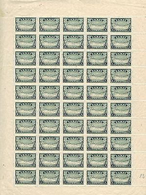 Estonia 1933, Sc112, MINT, Full Sheet, VC $350