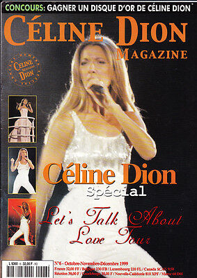 Celine Dion Magazine N.6 Special Lets Talk About Love Tour French
