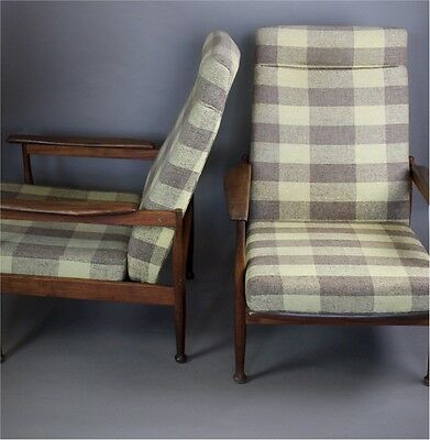 Pair of Manhattan mid-century chairs by Guy Rogers