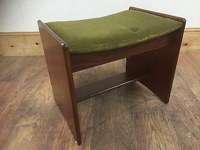 Vintage Retro G-Plan Dressing Table Stool GREAT MID CENTURY DESIGN