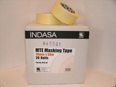 Masking Tape Indasa MTE-48mm 20 Rolls Low Bake