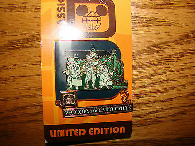 Disney Parks Classic D Collection Limited Edition The Haunted Mansion Pin *NEW*