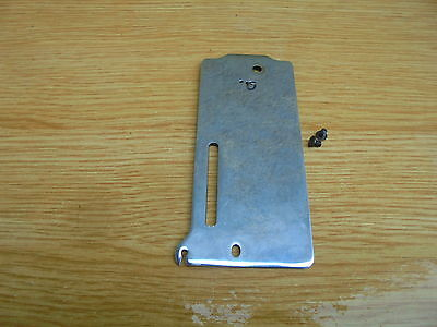 VINTAGE vickers SEWING MACHINE PART - Face Plate & screws