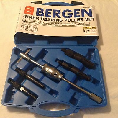 INNER BEARING PULLER by BERGEN TOOLS 10mm to 32mm Blind Extractor Slide Hammer