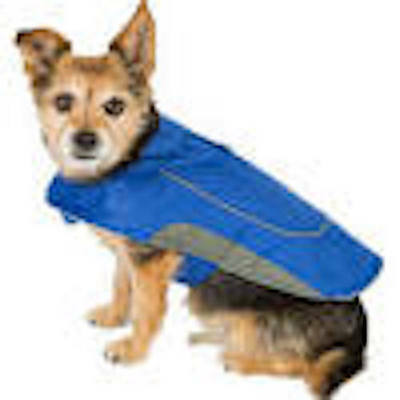 Ripstop Dog Jacket Blue XX Small