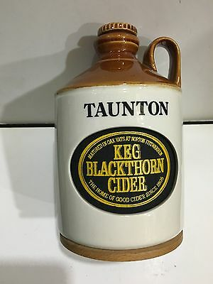 VINTAGE NOVELTY RADIO TAUNTON KEG BLACKTHORN CIDER AM(MW)- BAND FROM THE 1970s-