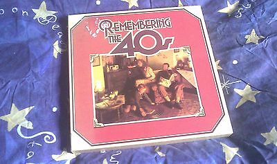 Vinyl Record Remembering the 40's (8 box set)