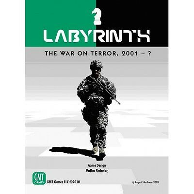 Labyrinth : The war on terror 2001 - ?, GMT Games